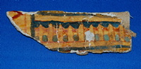 An attractive section of Ancient Egyptian painted cartonnage from a Sarcophagus. SOLD